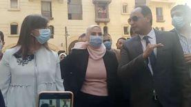 """وزيرتا الهجرة والتضامن تشاركان أطفال """"روضة السيدة"""" أنشطتهم الثقافية"""