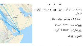 تفاصيل زلزال اسوان اليوم.. على بعد 2111 كيلومترا