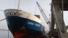 بعد رفض دخولها.. ميناء الإسكندرية يلفظ سفينة الأخشاب الملوثة بالإشعاع