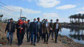 محافظ القليوبية يشهد تسليم 3 أفدنة لإنشاء محطة صرف صحي بشبين القناطر