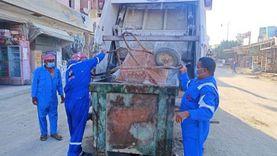 رش 6 مناطق بسيوة وتنظيف 5 في مطروح