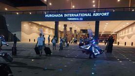 فيديو وصور.. مطار الغردقة يستقبل أولى الرحلات من مولدوفا بالمزمار البلدي