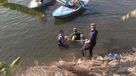 انتشال جثة غريق من مياه ترعة الإسماعيلية بشبرا الخيمة