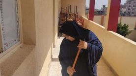 مديرة مدرسة ثانوي بشمال سيناء عن الامتحانات بـ التابلت: الإنترنت منتظم