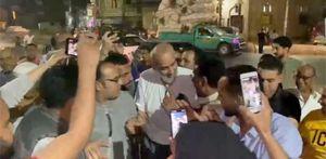 اللقطات الأولى لوصول أشرف السعد لمسقط رأسه في السنبلاوين