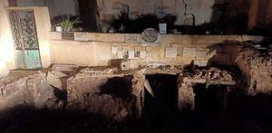 حفر وانتهاك حرمة موتى في مقابر عوارة بطنطا
