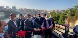 محافظ الدقهلية يفتتح 2 مرسى للأتوبيس النهري بمدينة طلخا