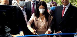 وزيرة التعاون الدولي تفتتح أول مركز خدمات زراعية في قنا