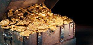 عملات مصرية قديمة تقدر بالذهب
