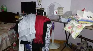 الملابس الملقاة فى الغرفة جزء من مأساة «الدولاب المكركب»
