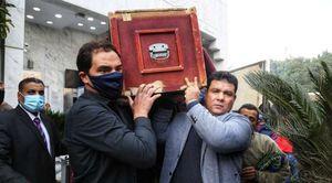 تشييع جثمان حافظ أبو سعدة
