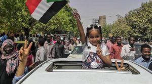 من مظاهرات ثورة السودان تحت شعارات حرية سلام وعدالة (أرشيفية)