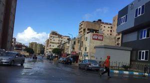 أمطار فى مدينة مرسى مطروح