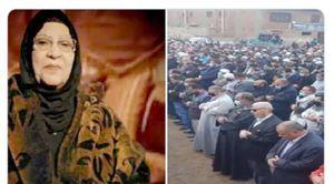 تشييع جثمان والدة الشيخ عبدالفتاح الطاروطي القارئ بالإذاعة والتليفزيون