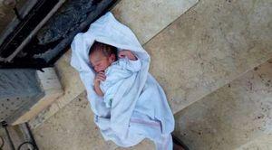 العثور على طفل ملقي في الشارع بدكرنس