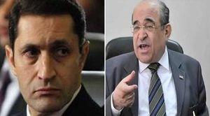 مصطفى الفقي وعلاء مبارك