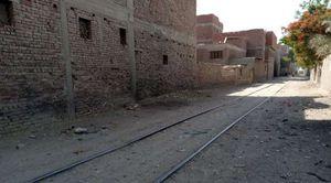 منطقة كفر العلو بعد 48 ساعة من حادث قطار حلوان