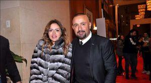 مها الصغير وزوجها أحمد السقا