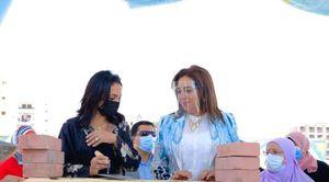 وضع حجر أساس فرع المجلس القومي للمرأة بدمياط