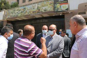 جولة مفاجئة لمحافظ القاهرة لعدد من المراكز التكنولوجية بأحياء العاصمة