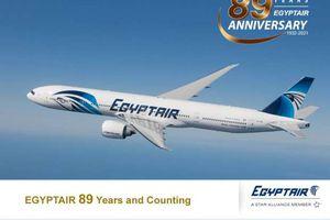مصر للطيران تحتفل بعيدها الـ 89