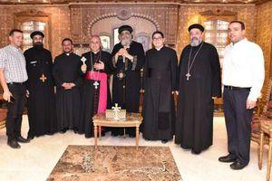 البابا يستقبل سفير الفاتيكان بمصر