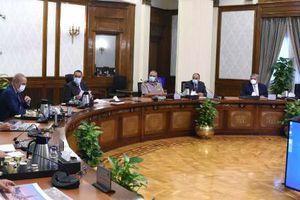 رئيس الوزراء يتابع الموقف التنفيذي لمشروعات العاصمة الإدارية