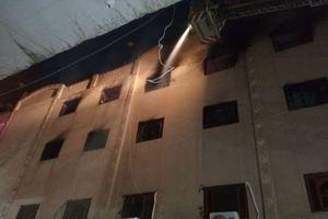 السيطرة على حريق كنيسة مار مينا بالعمرانية