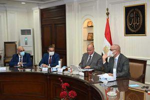 """وزير الإسكان ومحافظ القاهرة يتابعان الموقف التنفيذى لمشروع تطوير """"منطقة مثلث ماسبيرو"""""""