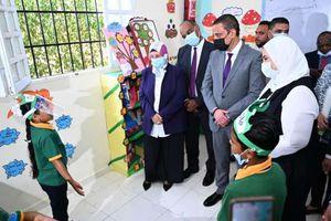 وزيرة التضامن تتفقد إحدي مدارس التعليم المجتمعي.. وتلتقي مجلس الآباء واللجنة المجتمعية