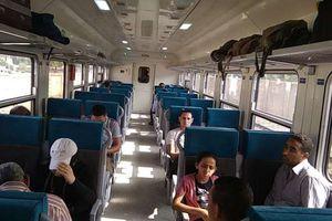 القطارات الجديدة بعد دخولها الخدمة بالسكة الحديد