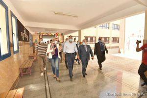 محافظ الدقهلية يتفقد عدد من المنشأت والخدمات بمدينة جمصة