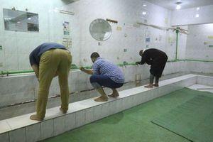 عودة الوضوء في مساجد المنصورة بعد غلق أكثر من عام