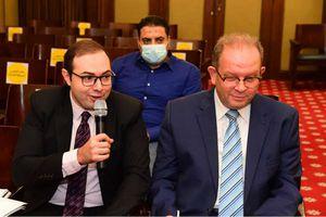 أجتماع لجنة الخطة والموازنة برئاسة الدكتور فخرى الفقى رئيس اللجنة بمجلس النواب