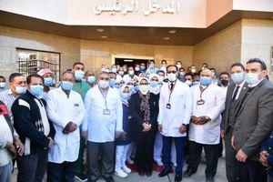 وزيرة الصحة: تتفقد مجمع الأقصر الطبي الدولي بتكلفة 1.2 مليار جنيه