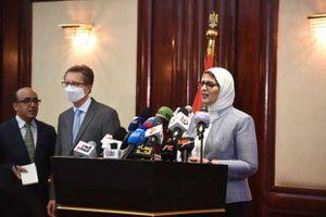 مؤتمر وزيرة الصحة عن لقاحات كورونا