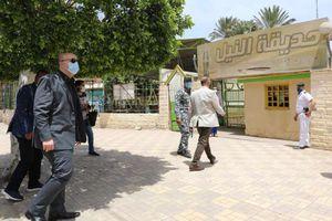 محافظ بني سويف يتابع ميدانيًا قرارات غلق الحدائق والكورنيش