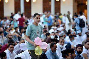 صلاة العيد بمسجد الازهر