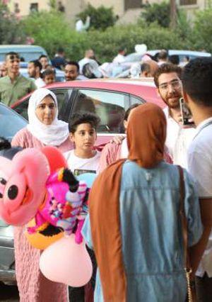 أجواء الفرح والبهجة تعم على الكبير والصغير في أول ايام عيد الاضحى المبارك