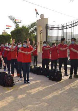 جانب من سير العملية التعليمية داخل مدارس بني سويف
