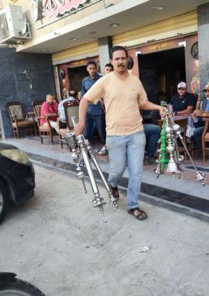 غلق وتشميع 95 محل مخالف بحدائق الأهرام