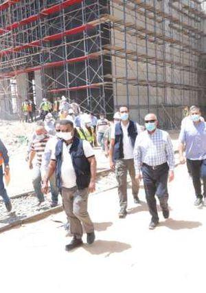 وزير النقل يتابع أعمال تنفيذ القطار الكهربائي الخفيف ومونوريل العاصمة الإدارية