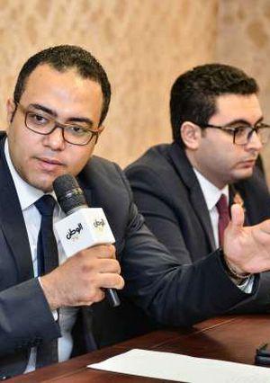 ندوة تنسيقية شباب الاحزاب تصوير هشام محمد
