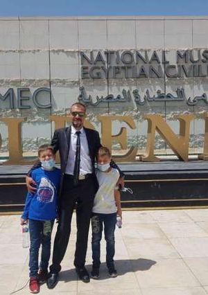 استمرارًا لتفعيل مبادرة «اتكلم عربي»..«الهجرة» تستقبل البطل المصري أحمد شعبان
