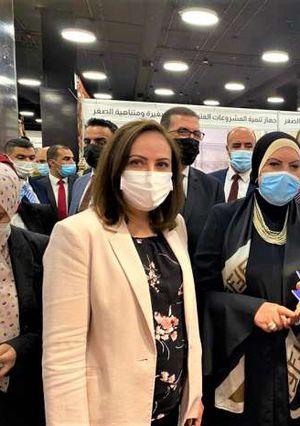 وزيرة التجارة والصناعة ونظيرتها الاردنية تفتتحان فعاليات الدورة الـ 14 لمعرض المنتجات المصرية بالعاصمة عمان