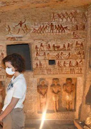 مدير عام منظمة اليونسكو تزور القاهرة التاريخية ومنطقتي آثار سقارة وأهرامات الجيزة
