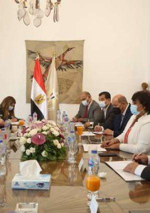 وزيرا السياحة والآثار والثقافة يبحثان وضع إستراتيجية للترويج السياحي والثقافي لمصر محليا وعالميا طبقا للمعايير الدولية