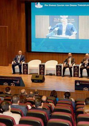 مؤتمر زراعة الاعضاء بمستشفى جامعة عين شمس