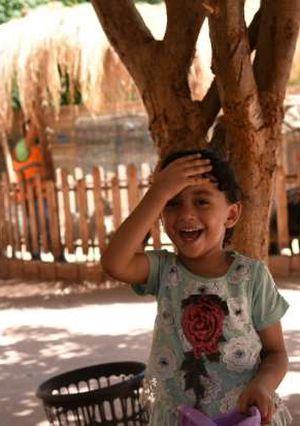 حديقه حيوان الجيزه اول ايام العيد