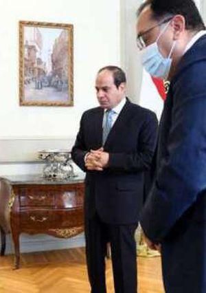 الرئيس السيسي يستعرض تفاصيل مشروع حديقة تلال الفسطاط